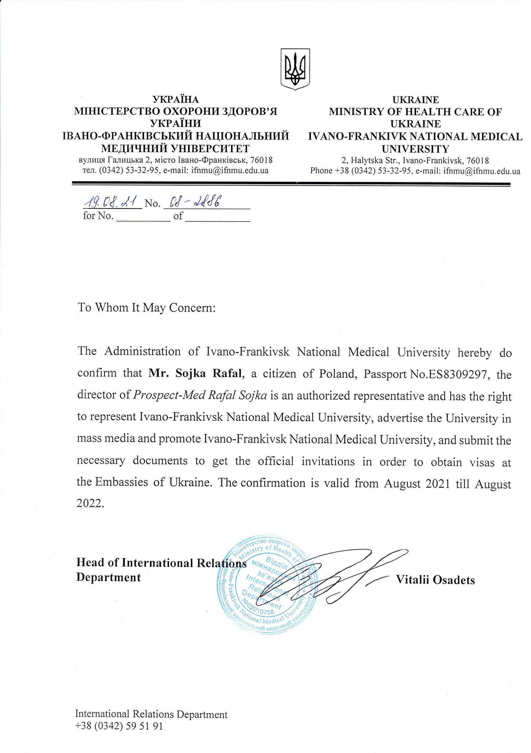 Prospect-Med - Studia medyczne na Ukrainie - Medycyna - Stomatologia - Farmacja - Weterynaria